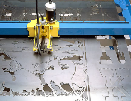 CNC Metal Plasma Cutting