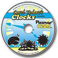 Clocks Art Disk