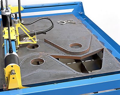 Plasma Machine Cutting 1 Inch Plate