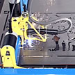 Machine Cutting Band Scene
